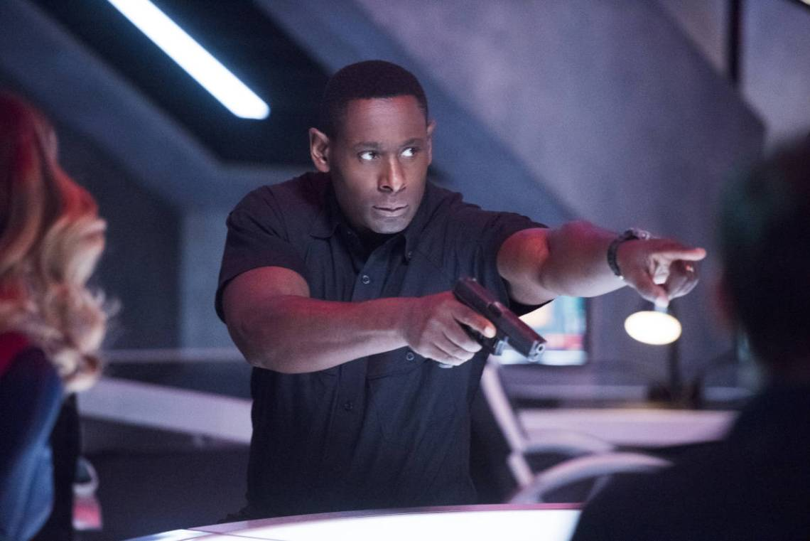 """Supergirl -- """"The Martian Chronicles"""" -- Image SPG211a_0108 -- Pictured: David Harewood as Hank Henshaw -- Photo: Dean Buscher/The CW -- © 2017 The CW Network, LLC. All Rights Reserved"""