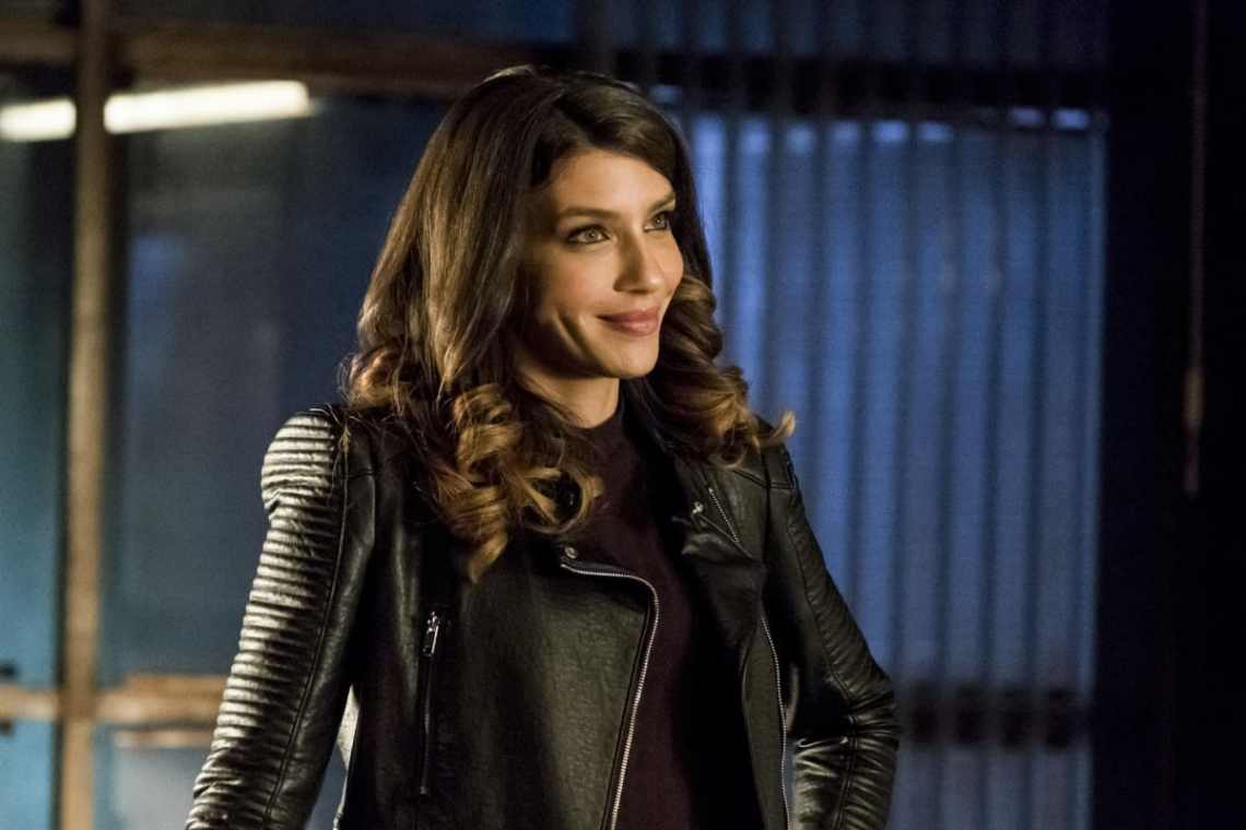 "Arrow -- ""Spectre of the Gun"" -- Image AR513b_0176b.jpg -- Pictured: Juliana Harkavy as Tina Boland -- Photo: Katie Yu/The CW -- © 2017 The CW Network, LLC. All Rights Reserved."
