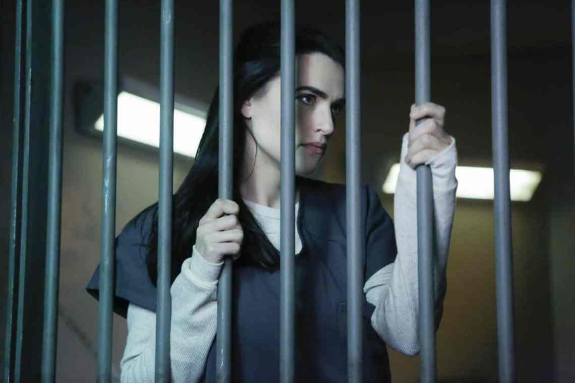 """Supergirl -- """"Luthors"""" -- Image SPG212a_0007 -- Pictured: Katie McGrath as Lena Luthor -- Photo: Bettina Strauss/The CW -- © 2017 The CW Network, LLC. All Rights Reserved"""
