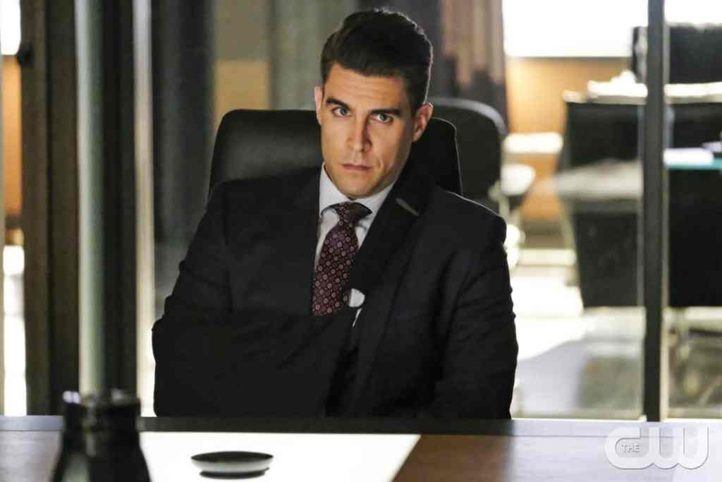 "Arrow -- ""Disbanded"" -- Image AR518a_0404b.jpg -- Pictured: Josh Segarra as Adrian Chase -- Photo: Bettina Strauss/The CW -- © 2017 The CW Network, LLC. All Rights Reserved."