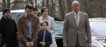 """THE BLACKLIST: REDEMPTION -- """"Hostages"""" Episode 106 -- Pictured: (l-r) Matt Walton as Gable Lang, Christopher Convery as Keaton Lang, Shannon Marie Sullivan as Olivia Lang, Alex Fernandez as Diego Rocha -- (Photo by: Will Hart/NBC)"""