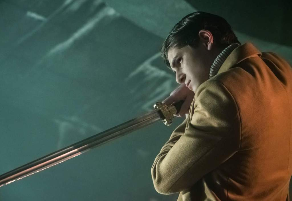"GOTHAM: David Mazouz in the first half of the special two-hour season finale episode of GOTHAM, ""Heroes Rise: Destiny Calling,"" airing Monday, May 29 (8:00-9:00 PM ET/PT) on FOX.  Cr: Jeff Neumann/FOX"