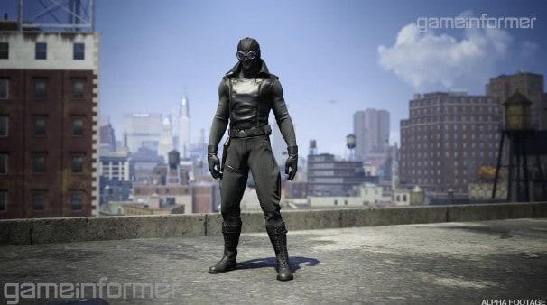 Spider-Man Noir Costume Preorder Bonus
