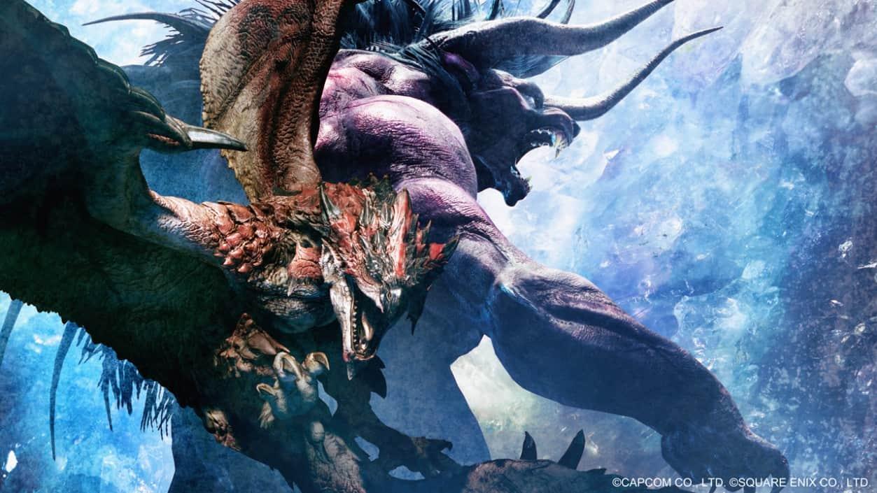 E3 2018 Monster Hunter And Final Fantasys Behemoth Cross