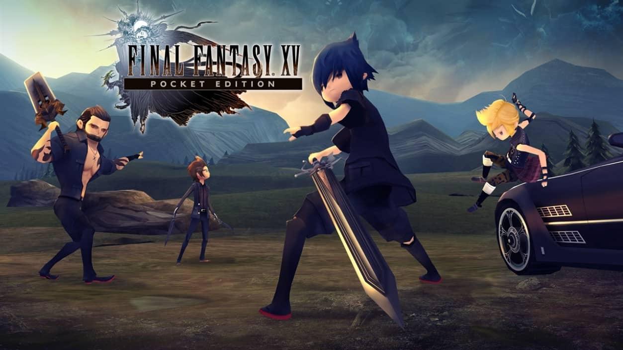 Final Fantasy XV Pocket Edition Review - Dual Pixels