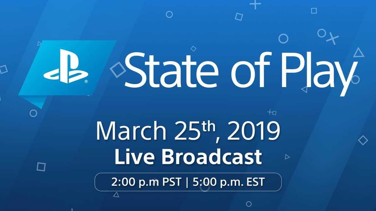 Playstation State of Play Live Stream and Start Time