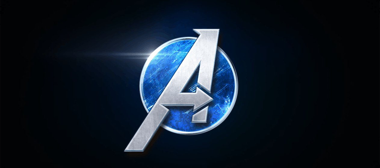 Marvel's Avengers Title Screen Logo