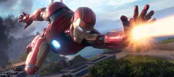 Iron Man Marvel's Avengers A-Day
