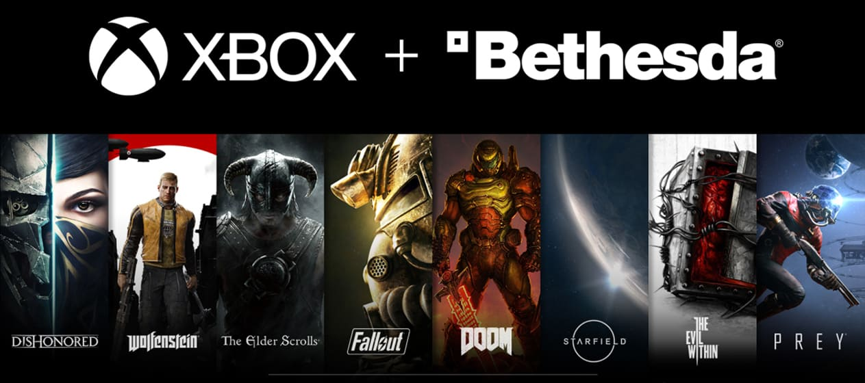 Look at Bethesda properties acquired by Microsoft.