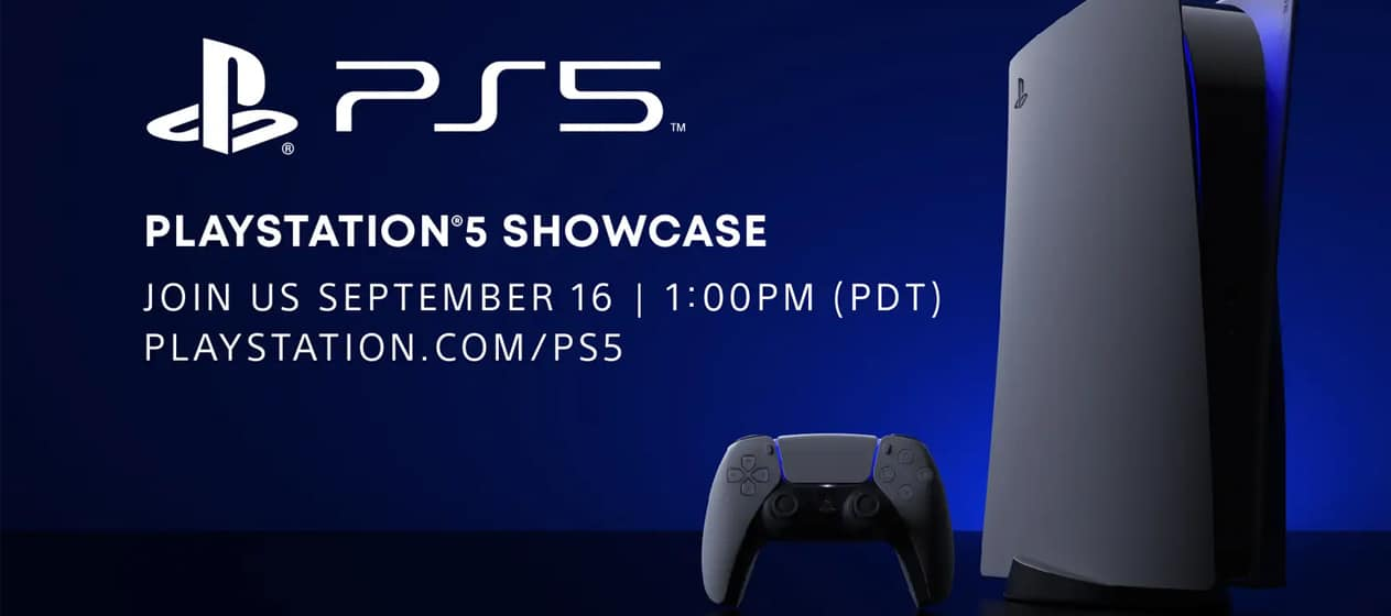 Playstation 5 Showcase On September 16 Dual Pixels