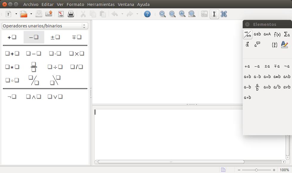 imagen de math de libreoffice