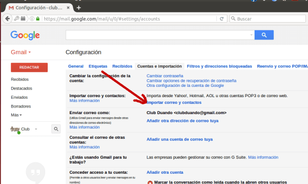 Configuracion gmail 4