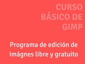 Carátula del Curso de GIMP