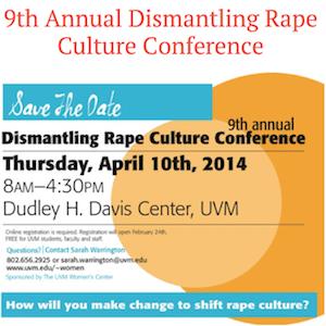 Dismantling Rape Culture Conference
