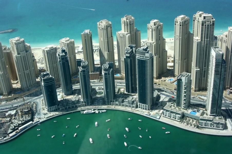 Районы Дубая - Новый Дубай. Дубай Марина.