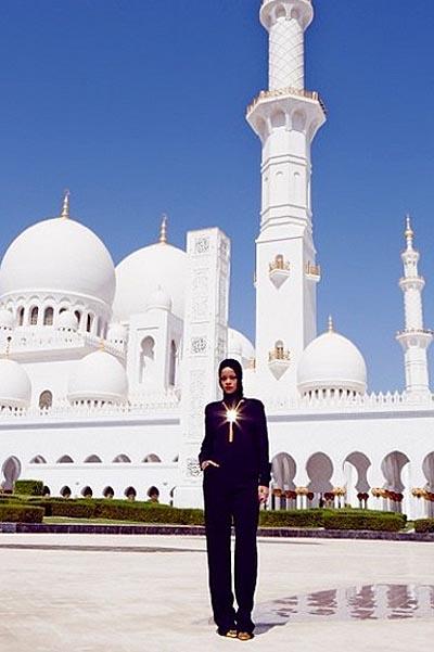 Фото Мечеть Абу-даби