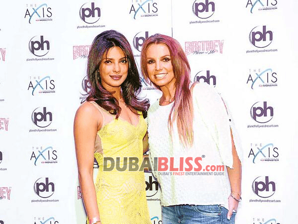 Priyanka chopra britney spears dubaibliss
