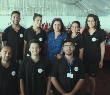 Muse Team with Farah Khan
