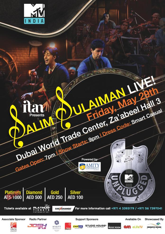 SALIM-SULAIMAN-MTV UNPLUGGED-DUBAIBLISS