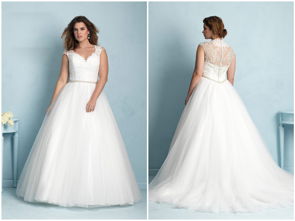 Your Guide To Plus Size Wedding Gowns
