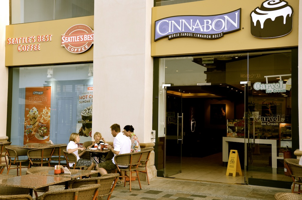 Cinnabon - Jumeirah Beach Residence, THE WALK