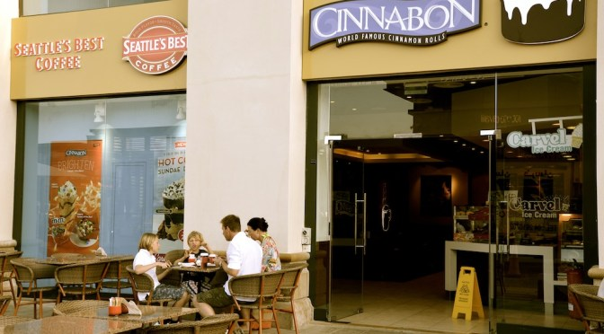 Cinnabon – Jumeirah Beach Residence, THE WALK