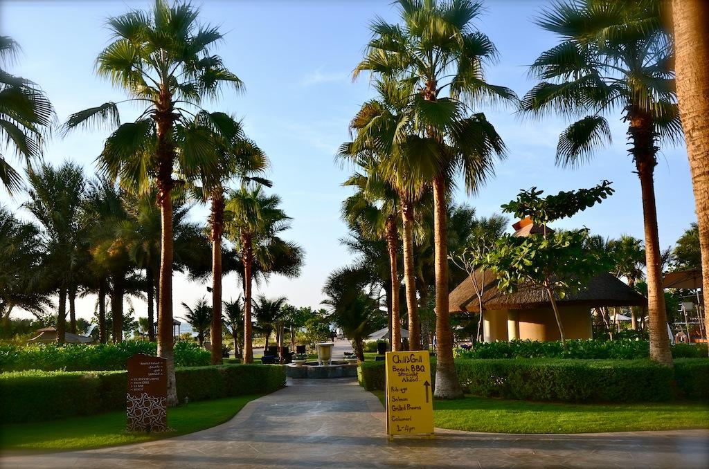 Palm Grill - Ritz Carlton - JBR - Chill & Grill BBQ - Dhs 250