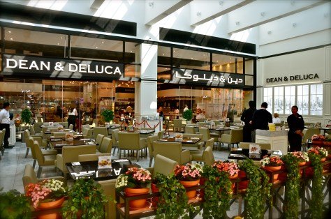 DEAN & DELUCA at Mall of Emirates (next to VOX cinemas)