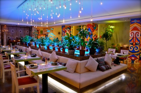 Garden interiors at JW Marriott Marquis