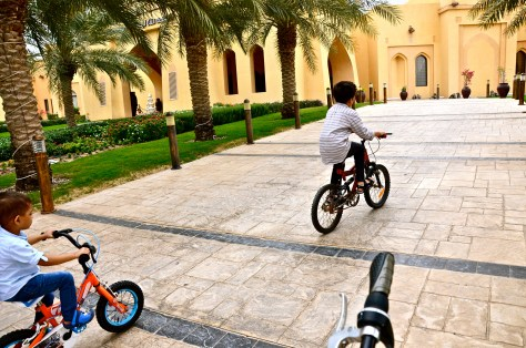 Complimentary bicycle rides for all age groups