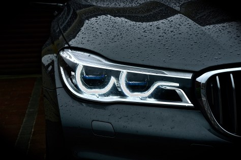 BMW Laserlight - illuminates a range of 600 meters, twice as that of conventional headlights