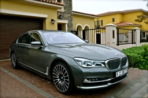 All new BMW 750 Li 2016