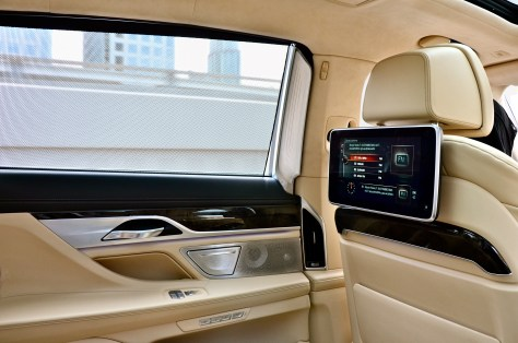 Inside BMW 750 Li - the contemporary and future-orientated atmosphere of luxurious wellbeing