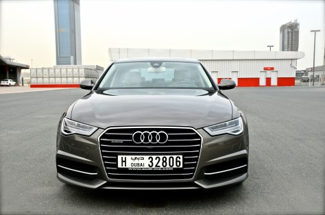 Dakota Grey - Audi A6 2016 Sedan 50 TFSI quattro S tronic with S line exterior package