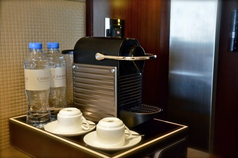Coffee Machine available at the Executive Suite, Conrad Dubai