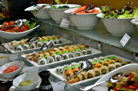 Sushi at Dhs 170 Iftar buffet at Meydan Hotel