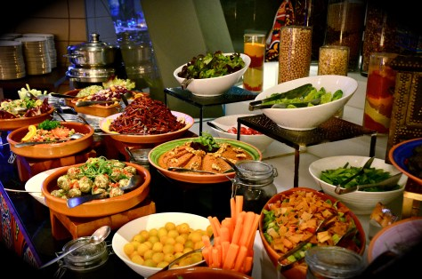 Cold Arabic Mezze - AED 165 Iftar buffet at Amasi Lounge