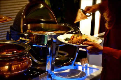 Indian corner at AED 165 Iftar at Amasi Lounge at Emirates Golf Club