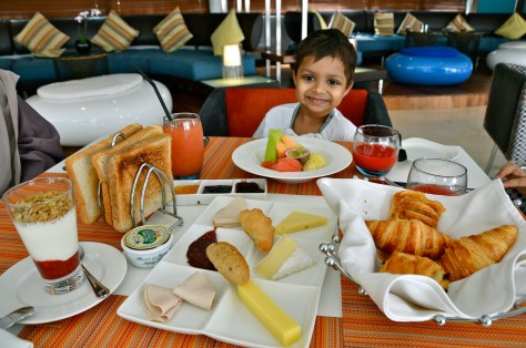 Continental Breakfast - Dhs 90 - (Selection of Cold Cuts & Cheese Fresh Sliced Fruits or Fresh Yoghurt & Granola Selection of Homemade Breads & Pastries Fresh Juice Desert Palm Coffee or JING Tea)