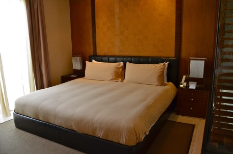 Master Bed - Super king and leather