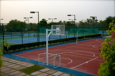 Sporting facilites for guests and residences