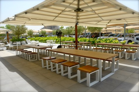 The Daily, Rove Hotel - outdoor seatings