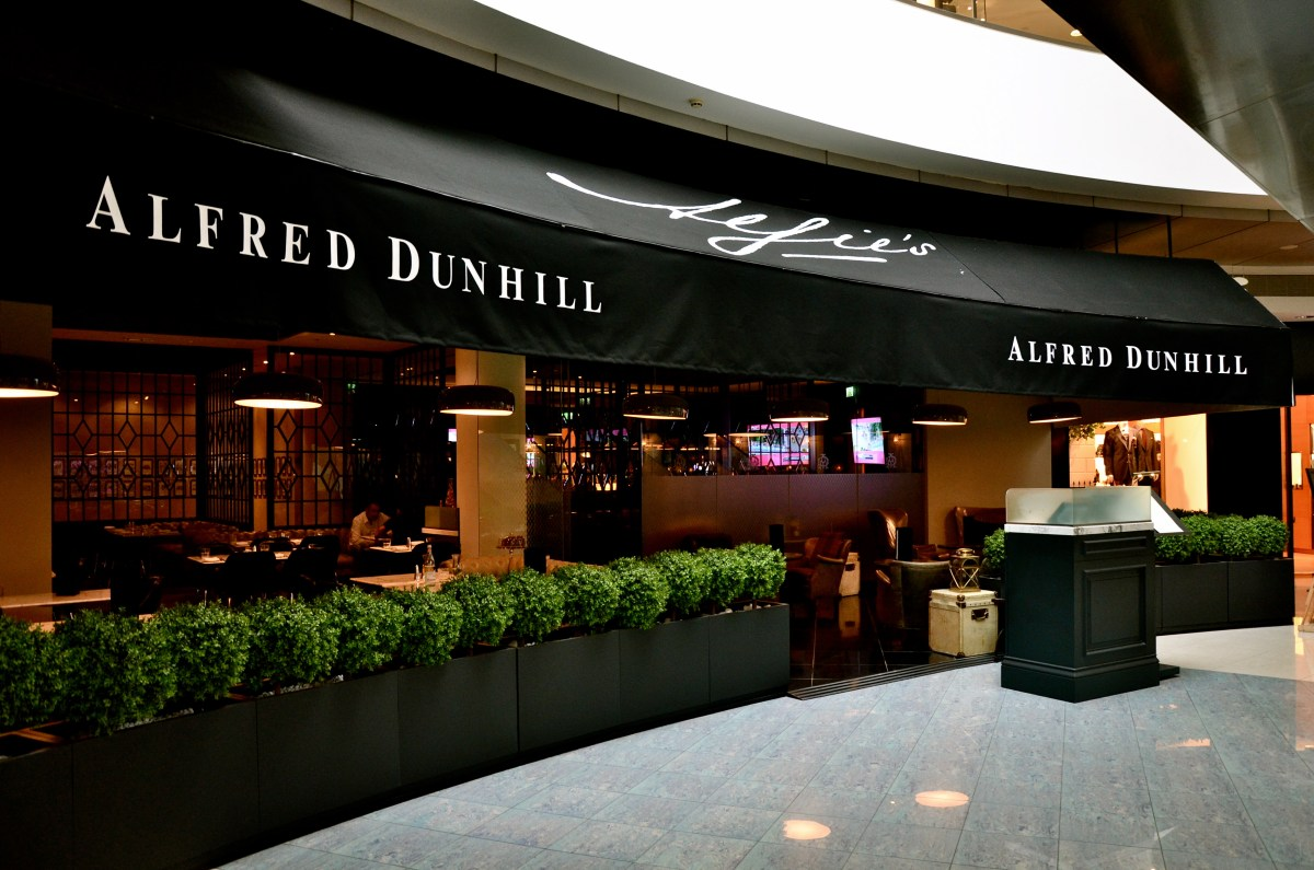 Alfie's - Alfred Dunhill - Jumeirah Emirates Towers