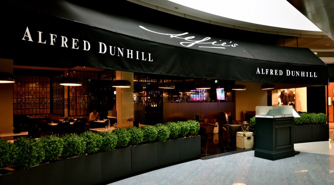Alfie's – Alfred Dunhill – Jumeirah Emirates Towers