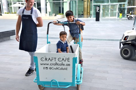 Craft Cafe Delivery Bicycle