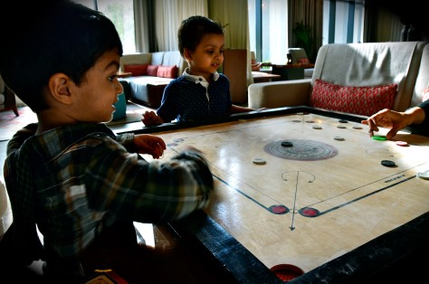 Rove hotels - complimentary Carrom board experience for hotel guests