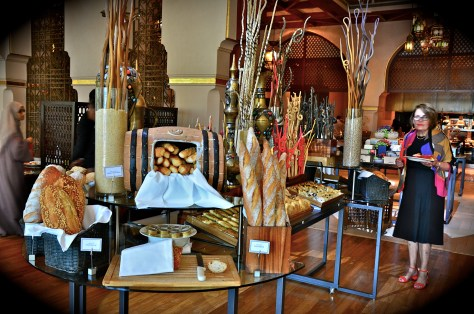 Breads at Ewaan, The Palace Downtown Dubai