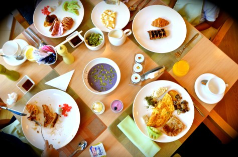 Morning Breakfast at All Day Dining Ginger Restaurant, Park Rotana AbuDhabi