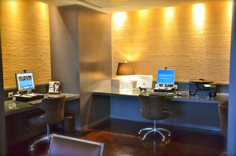 Complimentary internet services at Club Rotana Lounge