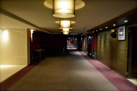 Typical hallway in Park Rotana, AbuDhabi